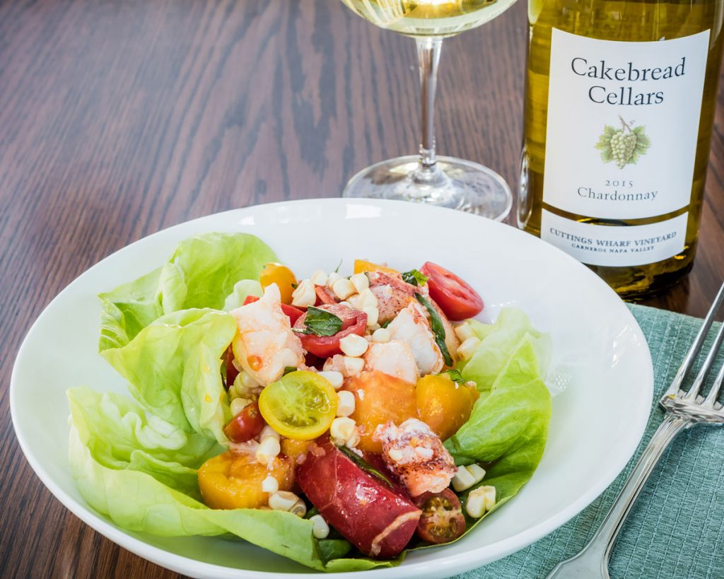 Lobster, Tomato and Corn Salad - Cakebread Cellars