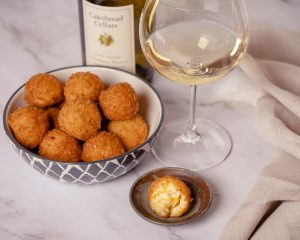 Arancini with Butternut Squash and Taleggio Cheese - Cakebread Cellars