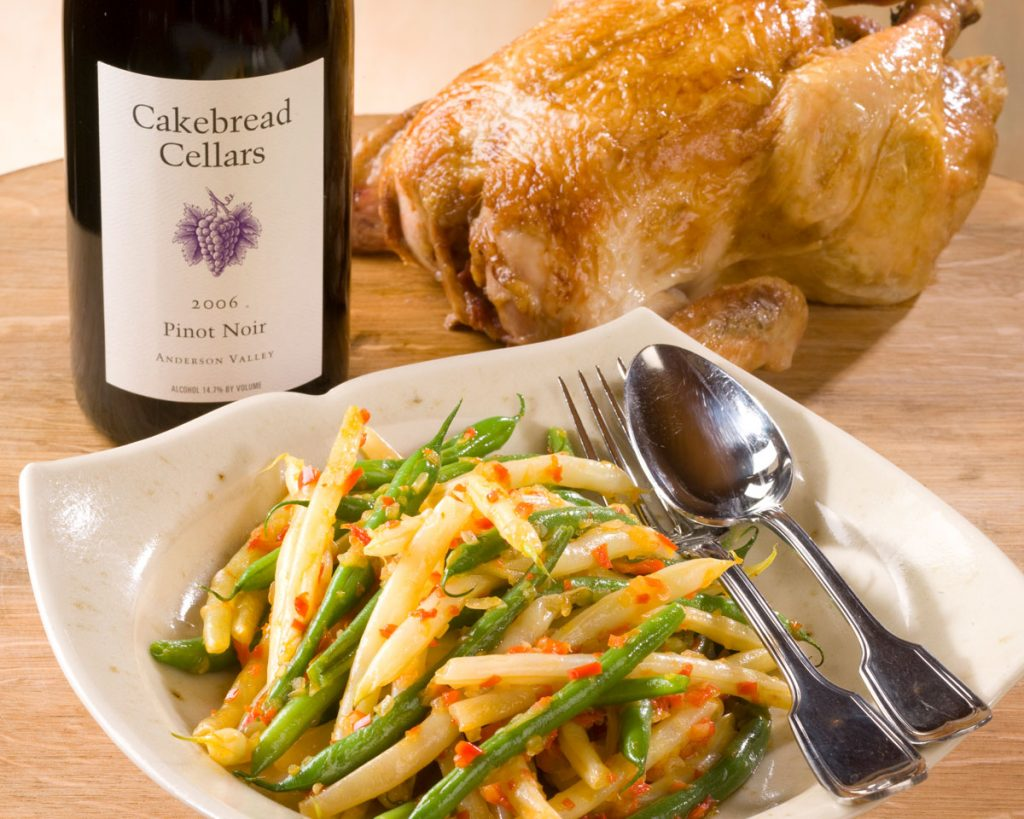 Summer Bush Beans with Red Pepper Soffrito - Cakebread Cellars