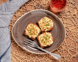 Deviled Crab Toasts - Cakebread Cellars