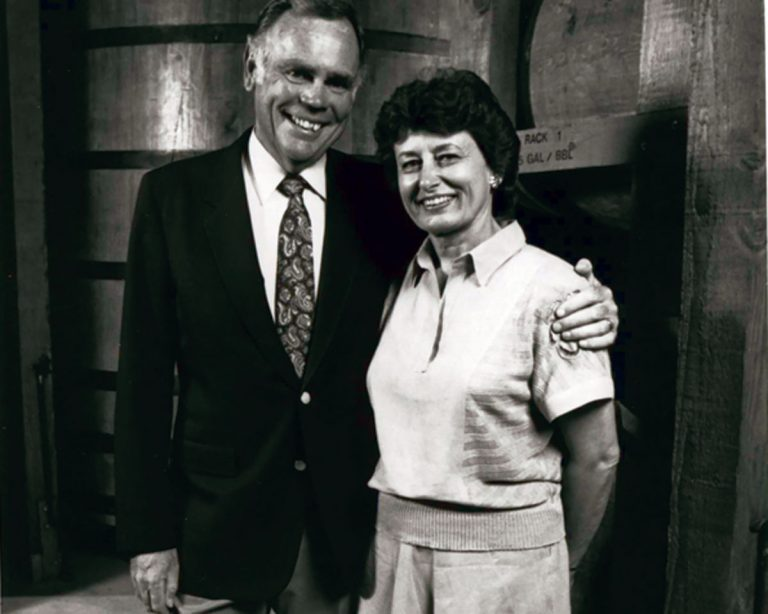 Jack and Dolores Cakebread, Founders, 1985