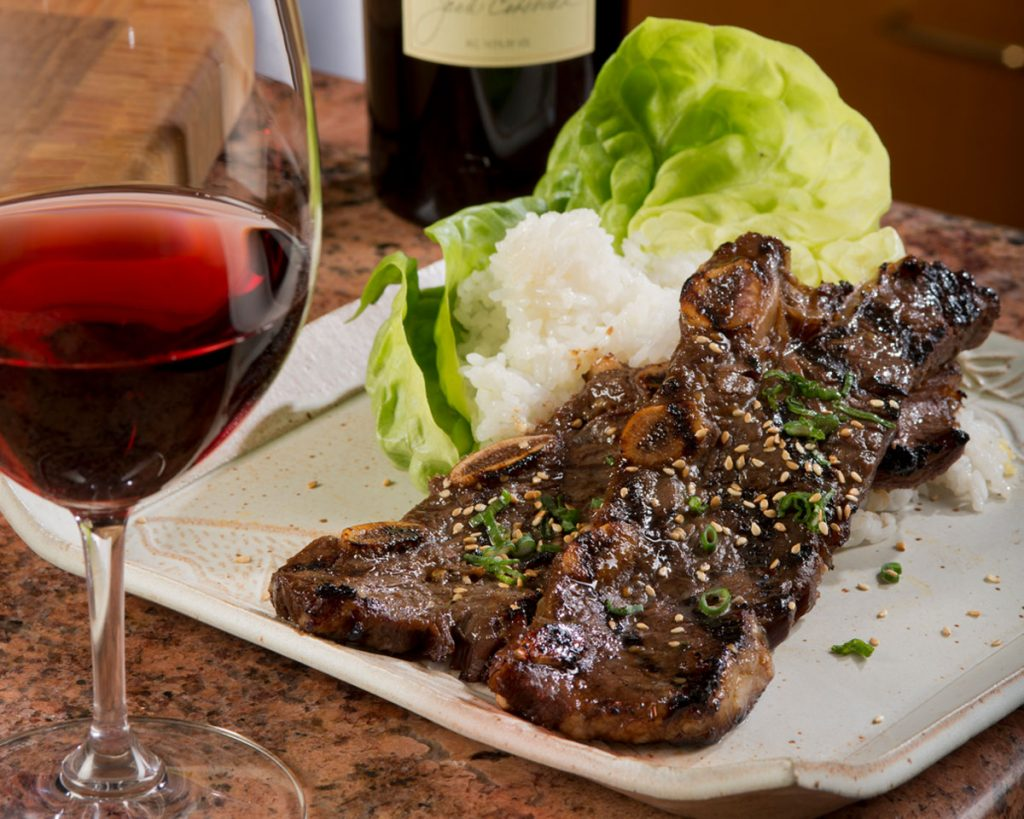 Korean Style Barbecue Beef - Cakebread Cellars