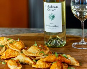 Pierogies with Kimchi & Potato - Cakebread Cellars