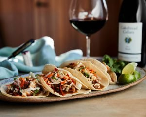 Pork Adobo Tacos - Cakebread Cellars
