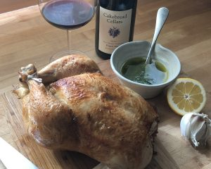 Roast Chicken with Honey Gremolata - Cakebread Cellars