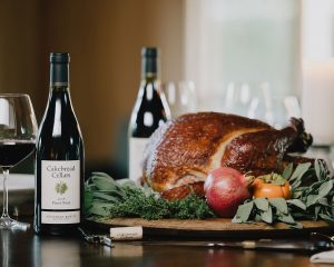 Grilled Smoked Turkey - Cakebread Cellars