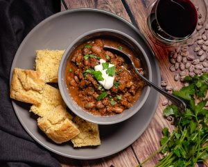 Broken Arrow Ranch Venison Chili - Cakebread Cellars